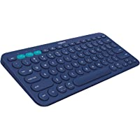 Logitech 920-007597 Multi-Device Bluetooth Keyboard K380, Blue