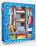 divinezone Simple Wardrobe Cabinet Organizer