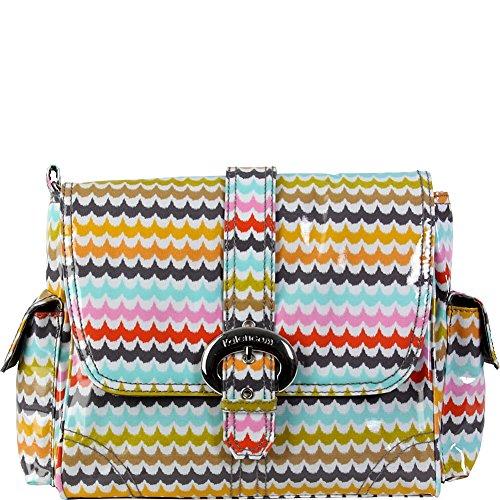 - Kalencom Midi Coated Diaper Buckle Bag, Spa