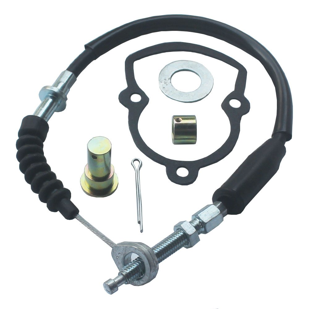 KIPA Rear Brake Cable Kit For YAMAHA YFS200 Blaster 200 ATV 1988-2001 (Not Fit fit for a +4'' extended swingarm)