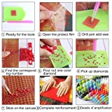 2 Pack 5D DIY Diamond Painting Full Drill Kit