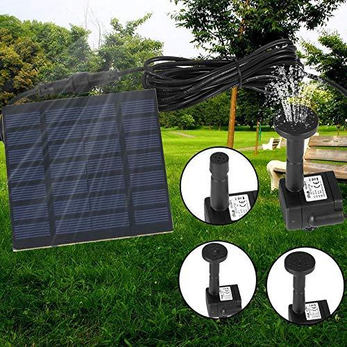 Appearanice Professional Outdoor Solar Power Water Pump Garden Sun Plants Watering Outdoor Water Fountain Pool Pump