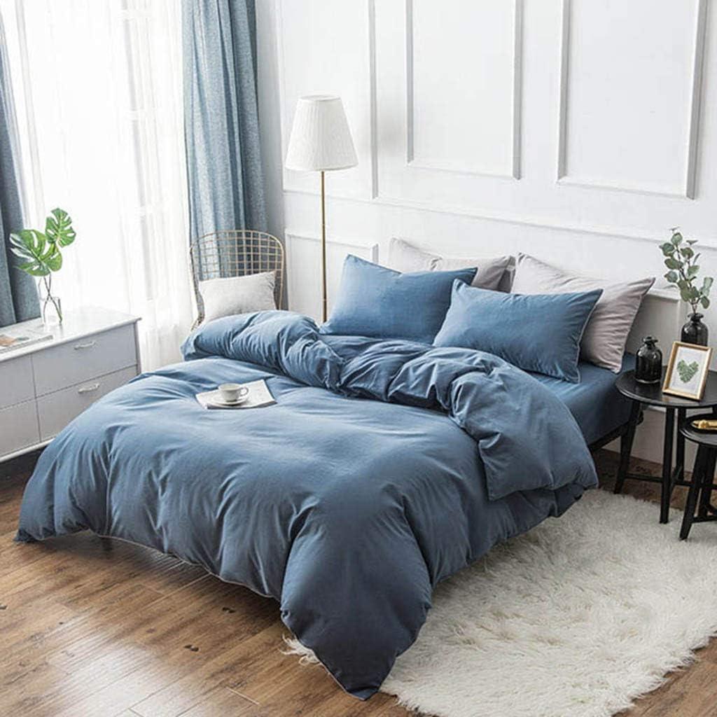 寝具セット快適な通気性のある4つのシートシートキルトカバー寝具コレクション100%コットンアンチスタティック簡単ケア裸の睡眠に適した(シングル、ダブル),220 * 240Cm