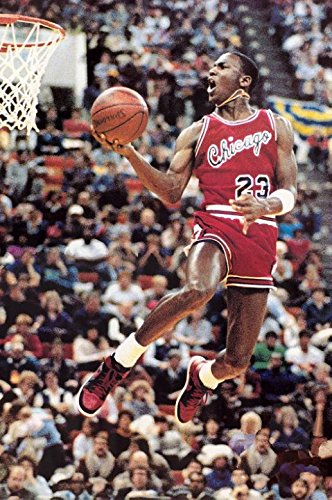 U Like Michael Jordan Dunks Art Canvas Print Painting Super