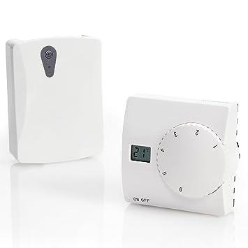 SAS816RF Digitales Funk Thermostat Temperatursteuerung von ...