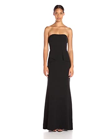 b8c6c327061a4 Amazon.com: Aidan by Aidan Mattox Women's Strapless Crepe Gown: Clothing