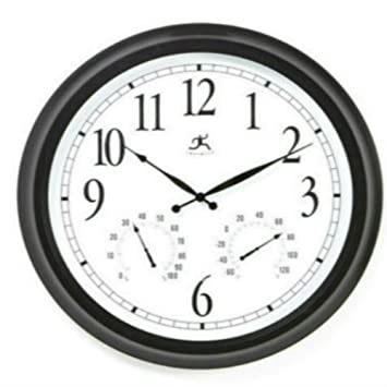 Amazon.com : Outdoor Large Atomic Wall Clock Accurate Indoor ...