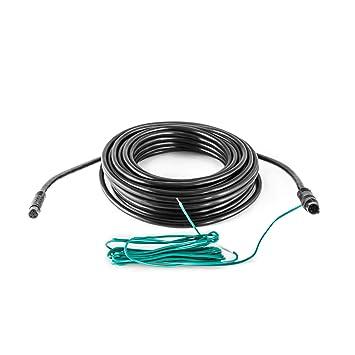 Carmedien 10 Meter Mini 6-Pin R/ückfahrkamera Anschlusskabel Verbindungskabel Monitor Kamera 6 Pin Stecker 12V 24V Stromversorgung 10m Kabel