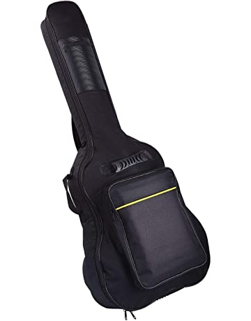 CAHAYA  Upgraded Version  41 Inch Acoustic Guitar Bag 0.3 Inch Thick  Padding Waterproof Dual 7aa2b7f32a02e