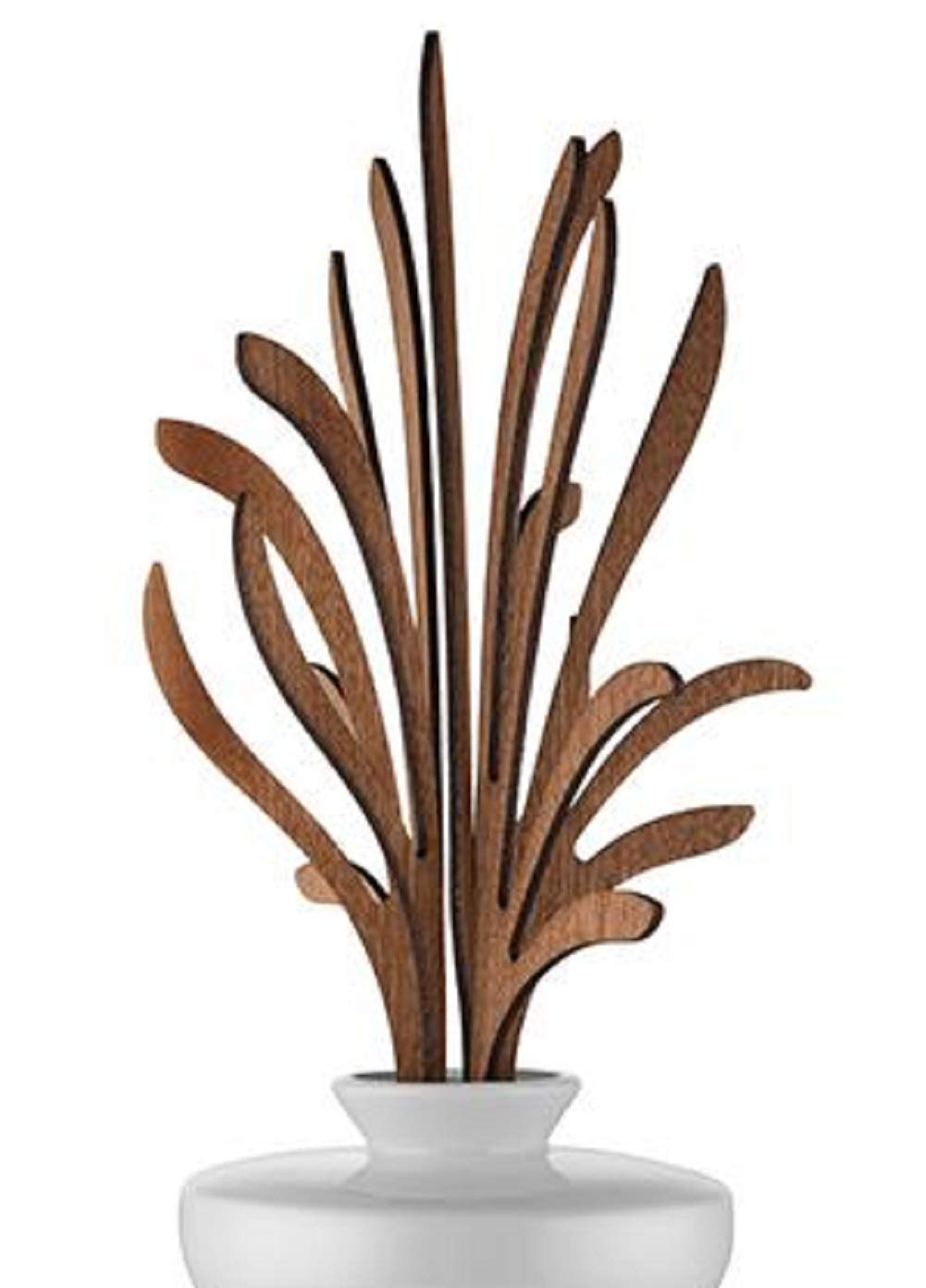 Alessi The Five Seasons Grrr Replacement Diffuser Leaves, Mahogany Wood, by Marcel Wanders by Alessi (Image #1)