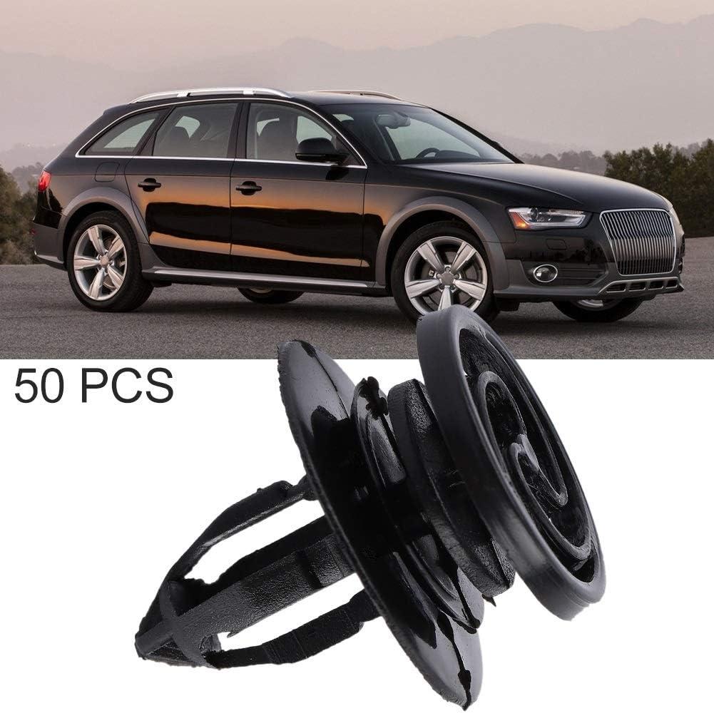 Broco Clips Puerta Clips de tarjeta de la puerta interior del coche y PanelTrim Kit de tornillos de montaje del remache for Audi A4 50Pcs