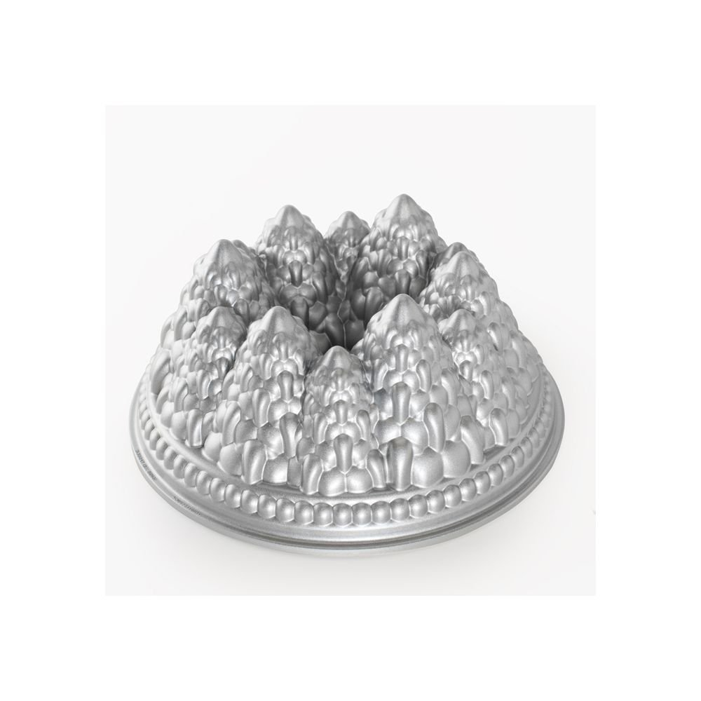 Nordic Ware - Food Service 89737 Aluminum Pine Forest Bundt Pan-3 / CS