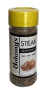 Johnny's Steak Seasoning, 3.5 Ounce (Pack of 6)