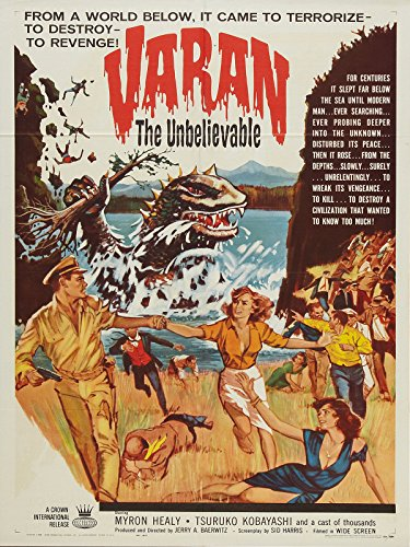 Varan the Unbelievable (1962)