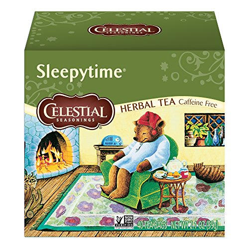 - Celestial Seasonings Herbal Tea, Sleepytime, 40 Count Box (Pack of 6)