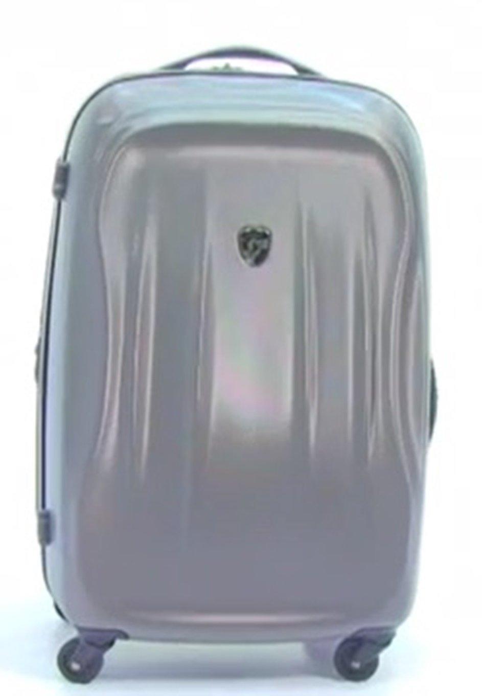 ... 50% SALE ... PREMIUM DESIGNER Hartschalen Koffer - Heys Crown SuperLite Grau - Handgepäck