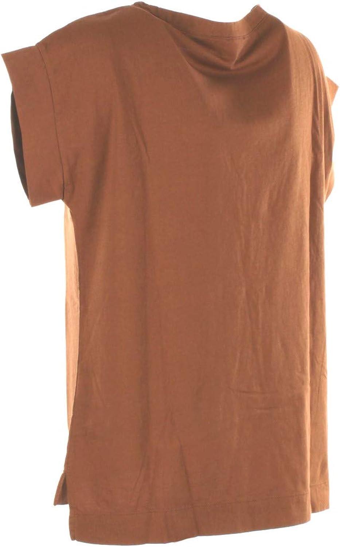 VICOLO T-Shirt Donna Marrone Uu0153 Primavera Estate 2019