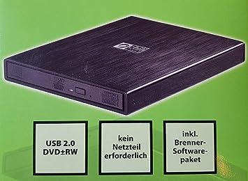 chiliGreen - Carcasa para grabadora de DVD externa (aluminio ...