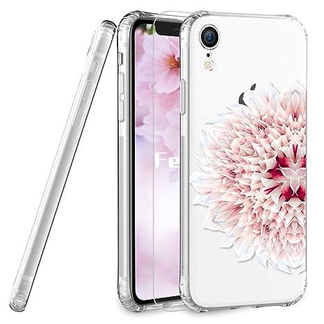 coque iphone xr a fleur