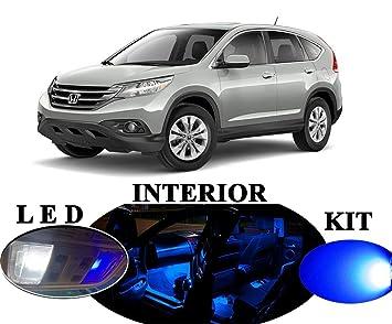 Luces LED para Honda CR-V azul Premium LED Interior Paquete Actualización (9 piezas): Amazon.es: Coche y moto