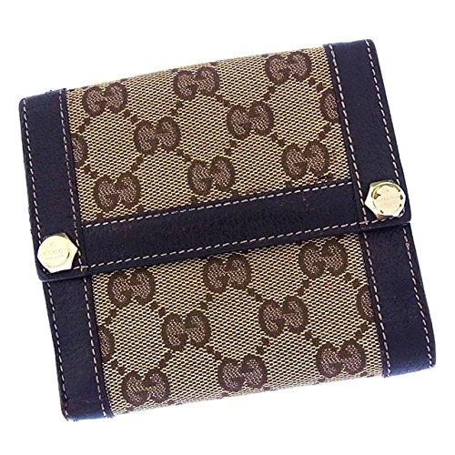 グッチ レザー 財布(ホック式小銭入れ付き) 154117