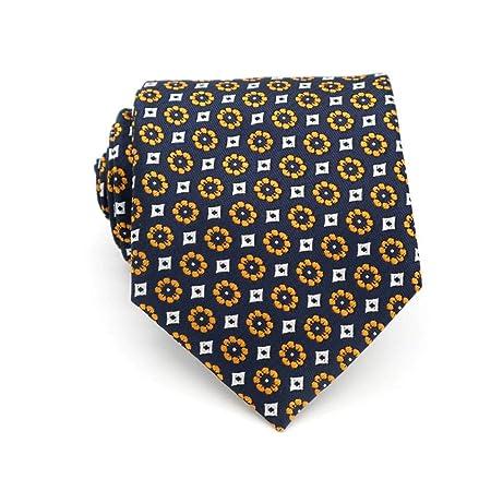QEHWS Corbata Floral Dot Jacquard Woven Classic Corbatas para ...