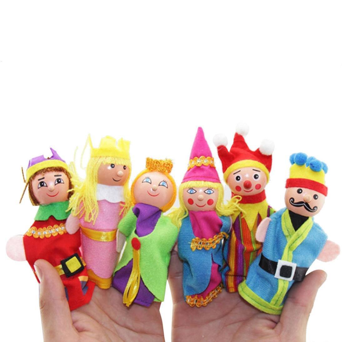 Amazon com: Finger Puppets,Putars 6 Pcs Multi-function