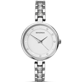 5f298741527e SEKONDA Womens Analogue Classic Quartz Watch with None Strap 2383.27: Amazon .co.uk: Watches