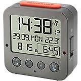 "TFA Radio-réveil ""BINGO"" anthracite 60.2528.10 Edition de Weathershop France"