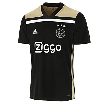 a925d1aabca Amazon.com : adidas 2018-2019 Ajax Away Football Soccer T-Shirt ...