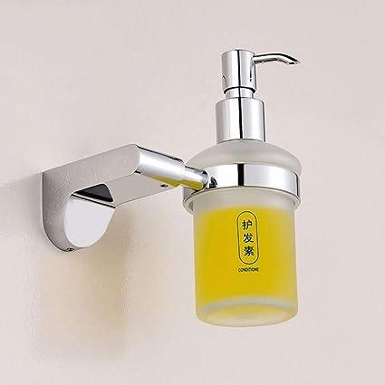 WTL Dispensadores de jabón Cuarto de baño del cuarto de baño Dispensador de jabón Cuchara de