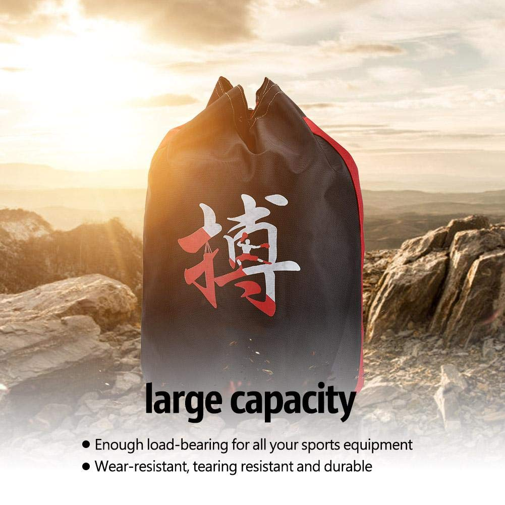 Gimnasio Bolsa de Cuerdas Deportivas Mochilas de Almacenamiento Uso para Taekwondo Boxeo Sanda Zyyini Bolsa de Deportes