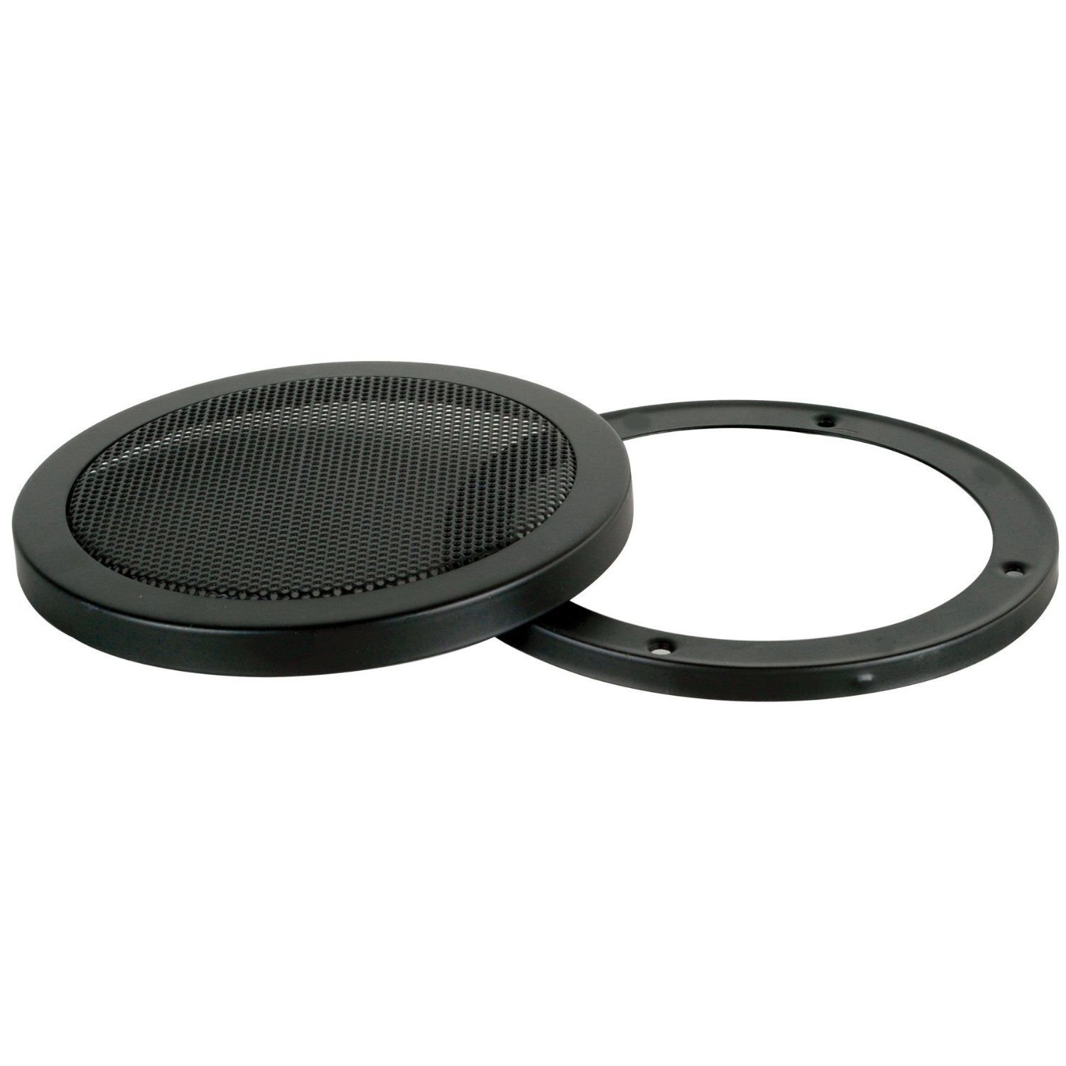 SINGLE 12-Inch 2-Piece Steel Mesh Speaker Subwoofer Grill - Black