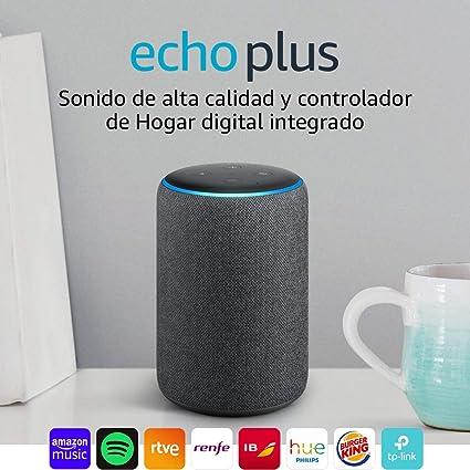 Echo Plus (2.ª generación) Reacondicionado Certificado - Sonido de ...