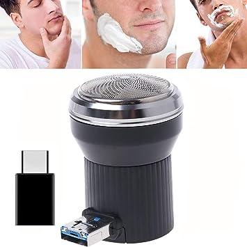 Afeitadora Eléctrica Rotativa Máquina de Afeitar Recortador de ...