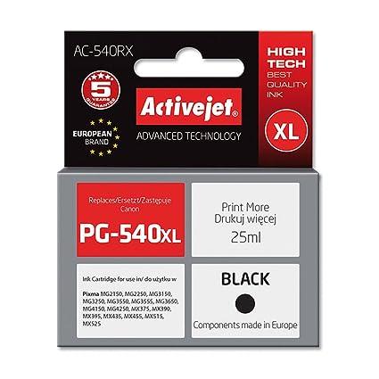 ActiveJet AC-540RX cartucho de tinta Compatible Negro - Cartucho ...