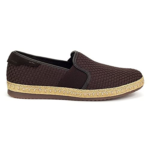 Geox copacabana sneaker uomo slip on - 45 - chocolate  Amazon.it ... 419cff6389e