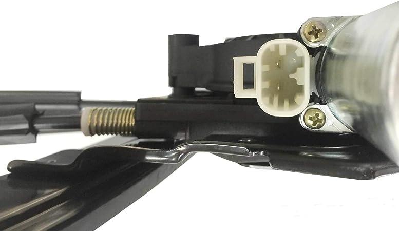Power Window Regulator Fits Chevrolet Trailblazer Rear Right Side 02-09 w// Motor
