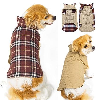 Amazoncom Subleer Winter Dog Jackets Waterproof Windproof