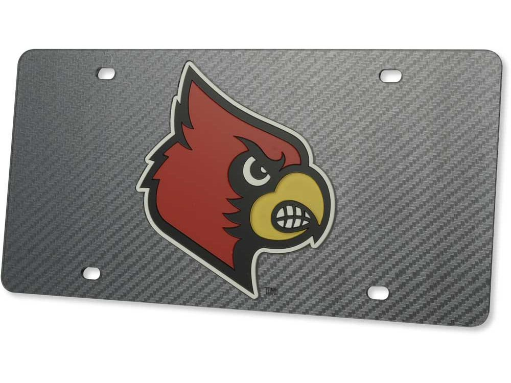 WinCraft Louisville University of S20158 Specialty Acrylic License Plate