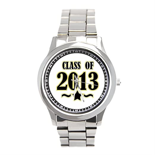 Muñeca relojes Marcas graduación clase Graduado para hombre de acero inoxidable relojes: Amazon.es: Relojes