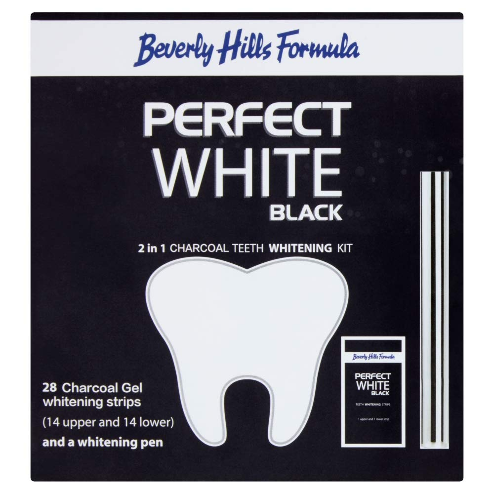 Beverly Hills Formula Perfect White Black 2 In 1 Charcoal