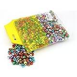 Metallic Plastic Pony Beads - 1000pk
