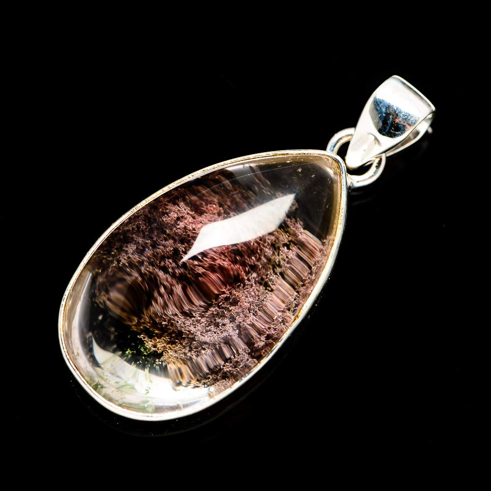 - Handmade Jewelry Bohemian Ana Silver Co Garden Quartz Pendant 1 5//8 925 Sterling Silver Vintage PD687513