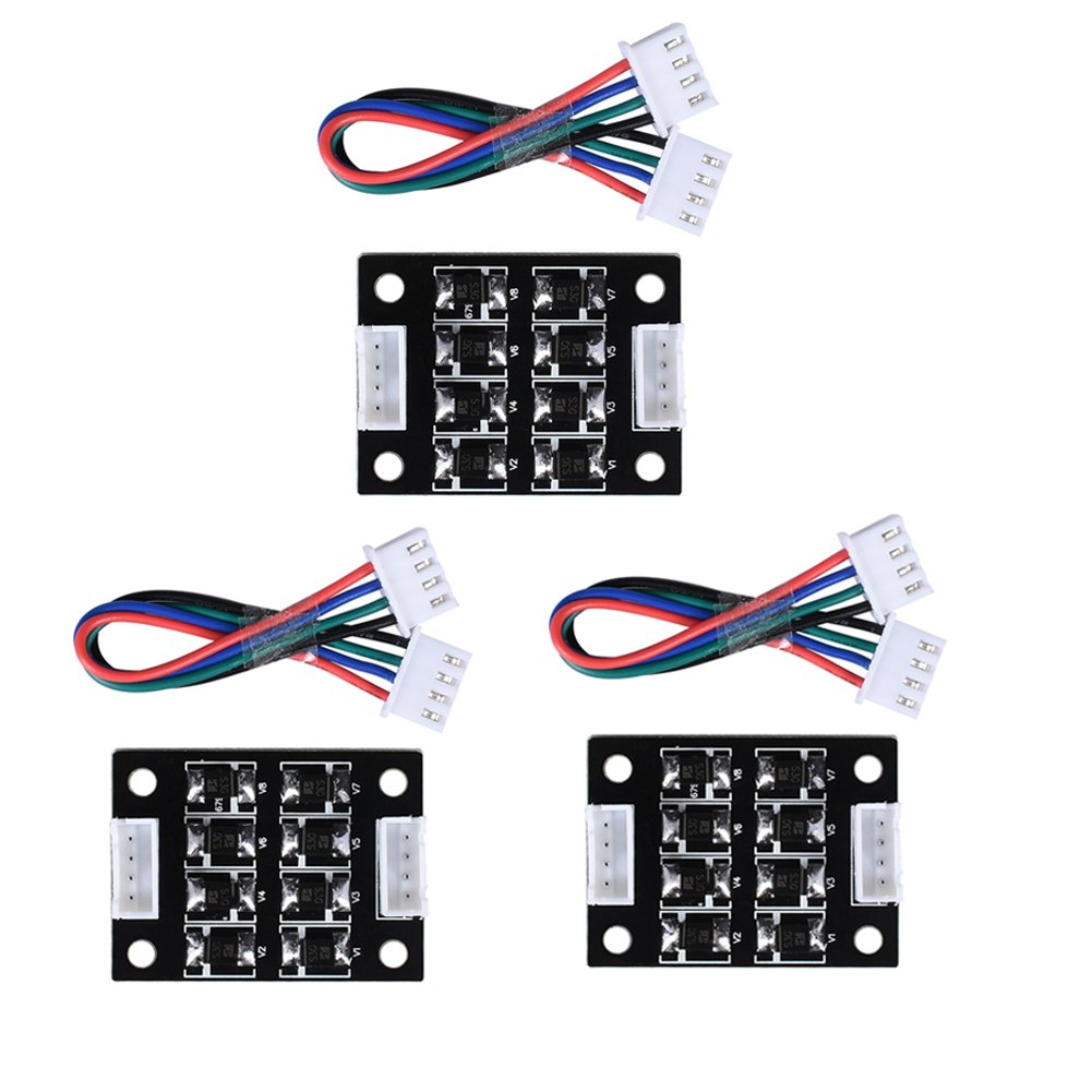 ARQQ 3D Printer Smoother, TL Smoother Addon Module 40 * 30mm for Pattern Elimination Motor Clipping Filter 3D Printer Stepper Motor Drivers (Pack of 5)