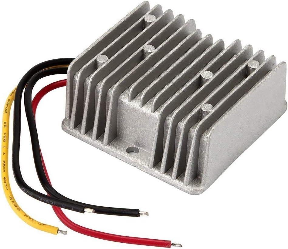 BTF-LIGHTING 100W DC-DC Reductor de Voltaje Impermeable Regulador Buck convertidor 12V/24V a 5V 20A para Carro de Golf Audio Fuente de alimentación 3014 5630 Tira de luz LED