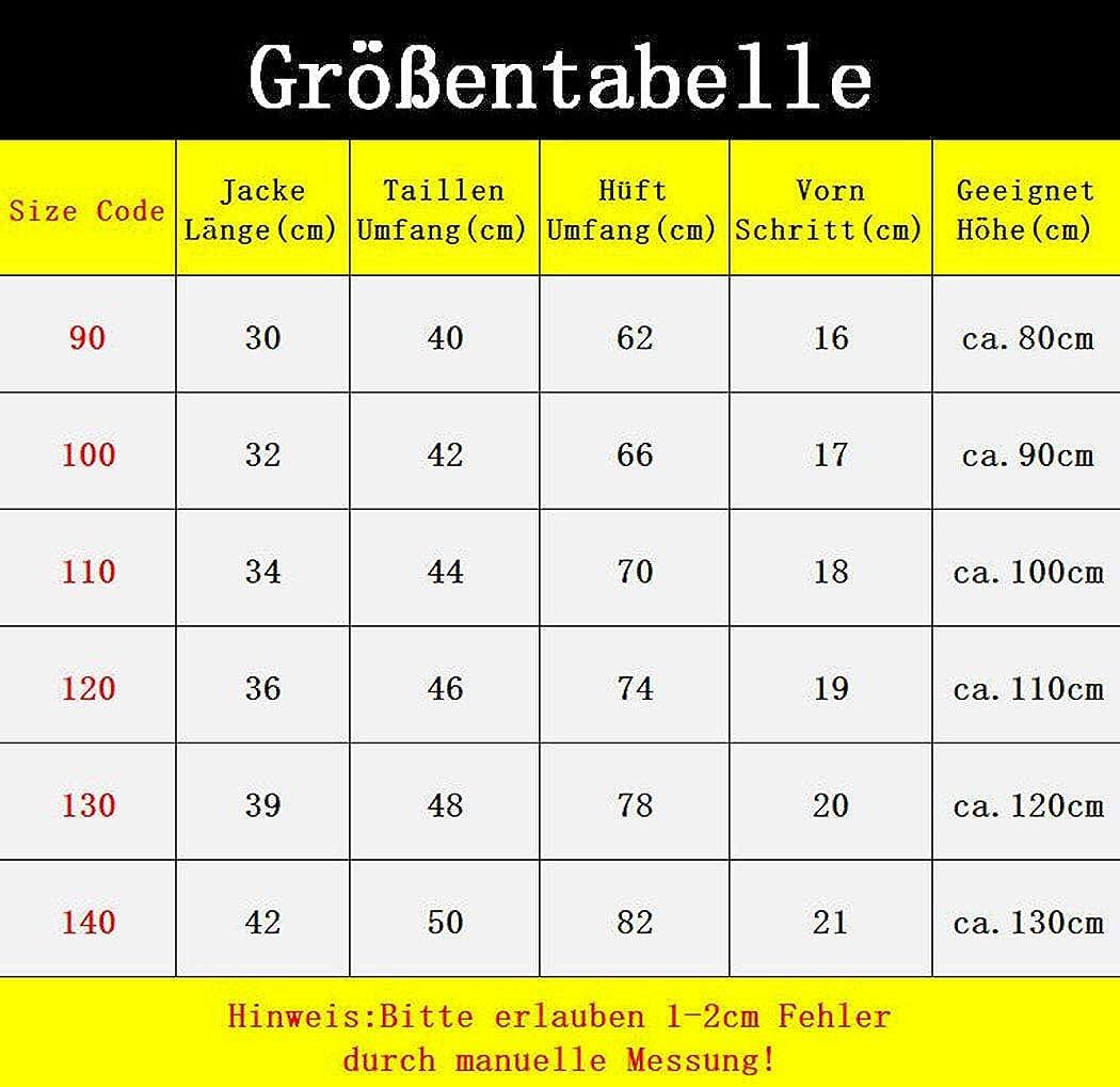 DorkasDE Baby Jungen Shorts Kurz Sweathose Elastischer Bund Freizeit Shorts F/ür H/öhe 80-130 cm