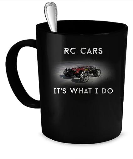 Amazon Com Rc Cars Coffee Mug Rc Cars Gift 11 Oz Black Kitchen