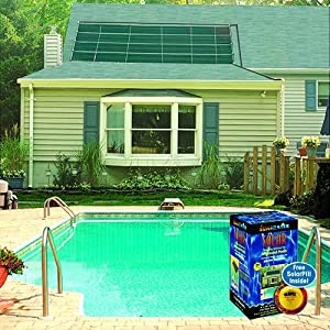 These solar heating panels are a good value for your money, as they are  lower priced than many of
