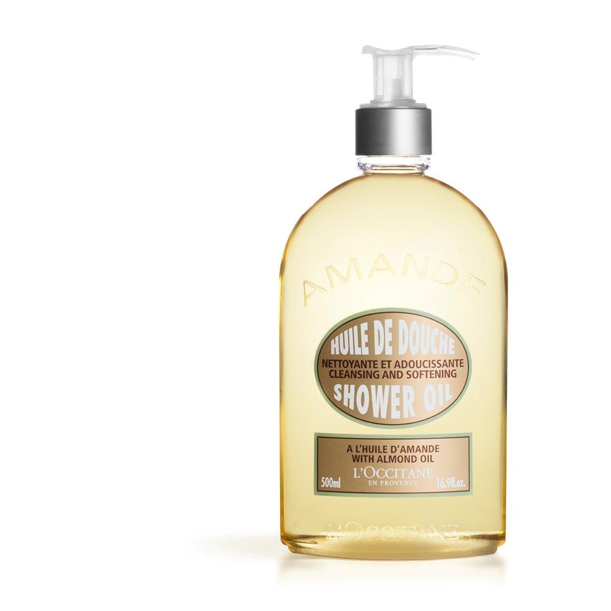 L'Occitane Cleansing & Softening Almond Shower Oil, 16.9 Fl. oz. by L'Occitane